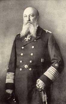 Le Grand Amiral Alfred von Tirpitz (1849-1930