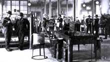 Une usine AEG à Berlin en 1900