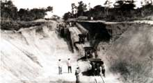Colonialisme: la construction de la ligne de chemin de fer «Congo-Océan» reliant Brazzaville à Pointe (1921-1934)