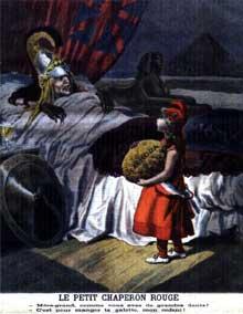 Caricature française à propos de l'affaire de Fachoda, crise sérieuse qui opposa la France et l'Angleterre en juillet 1898 à propos du partage de l'Afrique