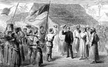 10 novembre 1871: «Dr Livingstone, I presume?»: la célèbre rencontre des deux explorateurs sur les bords du lac Tanganika