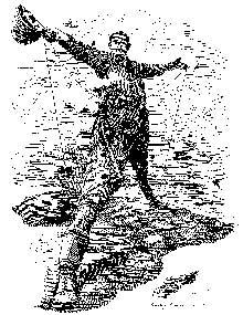 «Le colosse de Rhodes»: caricature de Cecil John Rhodes (1853-1902), après son annonce de réaliser une ligne télégraphique du Cap au Caire. Dessin réalisé par Edward Linley Sambourne et publié dans «Punch»