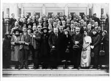 La délégation de l'empire britannique à la IIIè conférence international du Travail. Genève, 1921