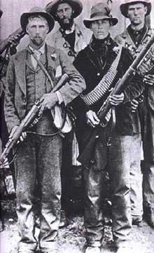 Guérilleros Boers pendant la Deuxième Guerre des Boers