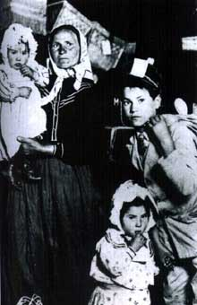 Emigrant italiens aux Etats-Unis en 1905