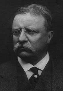Théodore Roosevelt (1858-1919) préside les destinées des Etats-Unis de 1901 à 1908