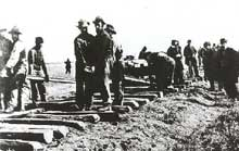 La construction de l'Union Pacific en 1868