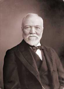 Andrew Carnegie (1835-1919), le roi de l'acier