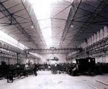 Paris: les usines Renault au début du XXè siècle