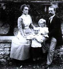 Une famille française des classes moyennes en 1899