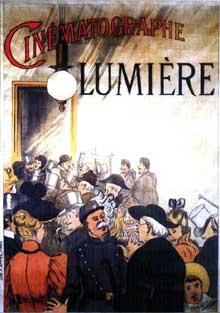 Le cinéma naissant, une des inventions majeures de la «Belle époque». Affiche de H Brispot, 1895