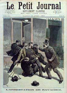 L'arrestation de Ravachol. Le Petit Journal, 16 avril 1892