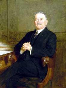 Le président Gaston Doumergue (1924-1931