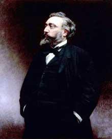 Léon Gambetta par Léon Bonnat