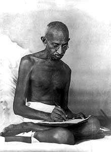 Le Mahatma Mohandas Karamchand Gandhi (1869-1948): un opposant de premier poids au colonialisme britannique