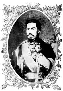 Meiji Tenno, l'empereur Meiji, prince Sachi no Miya, connu de son vivant en Occident par son nom personnel Mutsuhito (1852-1912), est le 122e empereur du Japon