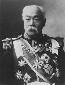 Masayoshi Matsukata (1835-1924), quatrième premier ministre de l'Empire du Japon sous l'ère Meiji