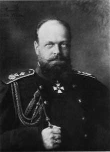 Le Tsar AlexandreIII (1881-1894) par Nadar