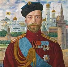 NicolasII. par Boris Koustodiev (1915