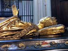 Bruges: Eglise Notre Dame: tombeau de Marie de Bourgogne. (Histoire de l'art - Quattrocento