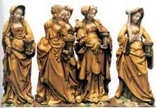 Le retable de Saint Léonard de Léau en Brabant. (Histoire de l'art - Quattrocento