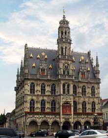 Audernarde: l'hôtel de ville, 1525-1537