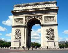 Paris: l'arc de triomphe de l'Étoile (1806-1836).