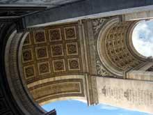 Paris: l'arc de triomphe de l'Étoile (1806-1836) par Chalgrin