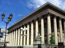 Paris: la Bourse (1808) ou Palais Brongniart