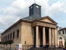 Etienne Hippolyte Godde (1781-1861): église Saint Pierre du Gros Caillou à Paris