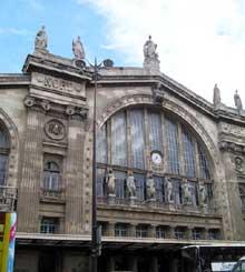 Jacques Ignace Hittorf: la gare du Nord à Paris