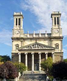 Jean Baptiste Lepère: l'église Saint-Vincent-de-Paul de Paris