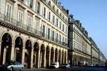 Charles Percier: le Louvre, rue de Rivoli