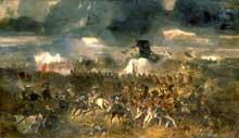 La bataille de Waterloo, 18 juin 1815, par Clément-Auguste Andrieux, 1852