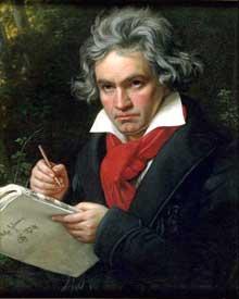 Ludwig van Beethoven par Joseph Karl Stieler