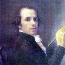 Antonio Canova: autoportrait. 1792