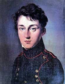 Nicolas Léonard Sadi Carnot en uniforme de polytechnicien peint par Louis Léopold Boilly