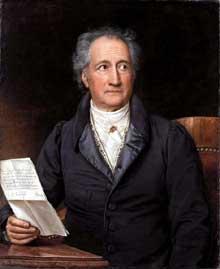 Johann Wolfgang Goethe par Joseph Karl Stieler, 1828