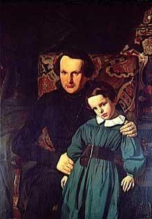 Victor Hugo et son fils