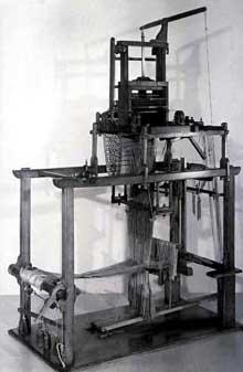 Le métier de Jacquard achevé en 1806