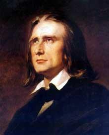 Franz Liszt: Portait par Wilhelm von Kaulbac