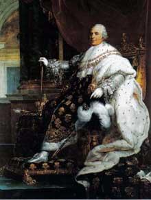 LouisXVIII, roi de France. Hôtel de Beauharnais