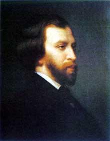 Alfred de Musset par Charles Landelle