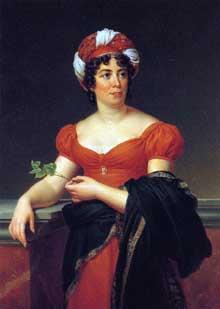 Anne-Louise Germaine Necker, baronne de Staël-Holstein, «Madame de Staël» par François Gérard