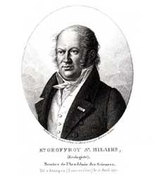 Etienne Geoffroy Saint Hilaire (1772 - 1844