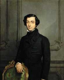 Alexis de Tocqueville par Théodore Chassériau (1850)