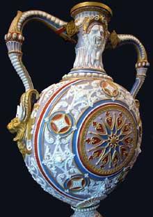 Claude Aimé Chenavard: Paires de vases «Flamand A». 1833-1835. Paris, musée du Louvre