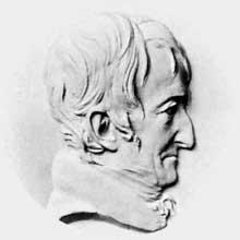 David d'Angers: médaillon d'Alexandre Brongniard
