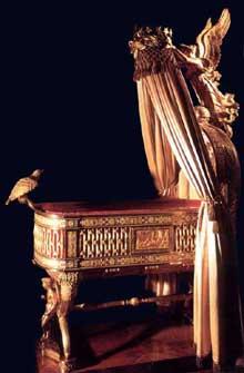 Jean Baptiste Claude Odiot: toilette de Marie Louise, le berceau du roi de Rome