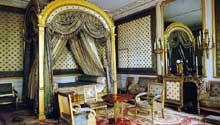 Fontainebleau: chambre de l'impératrice par Percier et Fontaines